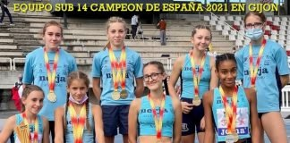 Éxito del atletismo Nerja femenino