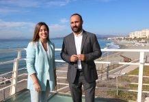El diputado nacional del PP Mario Cortés visita la Axarquía Costa del Sol