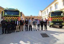 Importante esfuerzo económico para renovar y mejorar el Consorcio de Bomberos de Málaga.