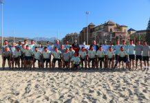La selección española de fútbol en la Costa del Sol-Axarquía
