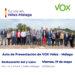 Acto público presentación candidatura de Vox Vélez-Málaga