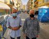 Las obras pertenecientes al Programa de Fomento de Empleo Agrario (PFEA) en la calle Rodríguez de la Fuente de Torre del Mar ya se han reanudado.